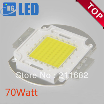 8pcs/lot Free Shipping 70W 5600-6300LM High Power LED chip LED Bulb IC SMD Lamp Light White Blue Green White Yellow .Warm White