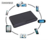 TOP 50000mAh Universal USB Battery Power Bank External Battery Pack Charger