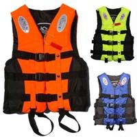 free shopping Life vest life jacket professional swimwear fishing clothes adult child