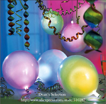 Wholesales Free Shipping Led Light Multicolor Flashing Balloons for Birthday Wedding Party Decorations (ss-02)