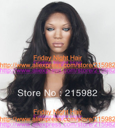 Free Shipping!!! HOT!! Top quality 4A 100% Brazilian virgin human hair Fashion wave CelebrIty Full lace wigs(China (Mainland))