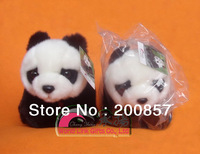Discount highest quality cute baby toy panda plush with Stylish high quality cotton GIFT SACK included