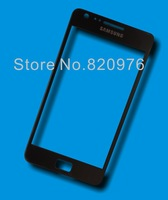 Free shipping Original Touch screen Outer LCD Screen Lens Top Glass replacement for Samsung Galaxy S2 i9100 9100+ tools