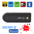 5pcs/lots MK809 II Android 4.1 Mini PC TV Stick Rockchip RK3066 1.6GHz Cortex A9 Dual core 1GB RAM 8GB Bluetooth 3D TV Box