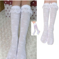hot sale 20pcs=10 Pairs=lot Girls'  socks,  lace Sock for girls Size 38cm High for 2~10 years free shipping