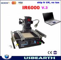 Ship fr UK, NO TAX!! LY IR6000 V.3 Infrared BGA Rework Station, LY best seller IR6000 BGA rework machine