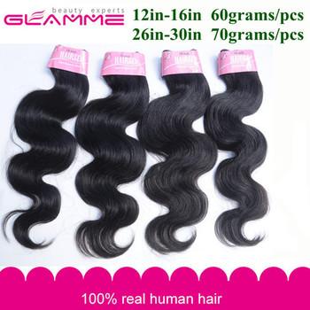Cheap Malaysian Body Wave 4/5 pcs Hair Weave Bundle,Natural Black 1b Soft Human Hair Weave Extension Free Shipping No Tangle