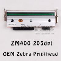 Free shipping OEM ZM400 203DPI Zebra Printhead 100% new 79800M NIB printer head