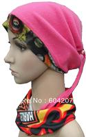 Outdoor multifunctional cap thermal winterisation fabric polar fleece earmuff fleece hat scarf muffler collars