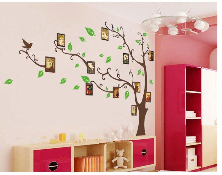 del hogar del marco pared del vinilo del arte pegatinas muebles
