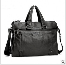 Sell like hot cakes! The man bag leather, leather, pictures, 1 pce wholesale free postage(China (Mainland))