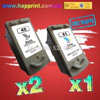 PG-40 CL-41 Inkjet Ink Printer Cartridge for Canon PG40 CL41 PIXMA IP2500 IP2600 MX300 MX310 MP160 MP140 MP150...(2BK+1C)