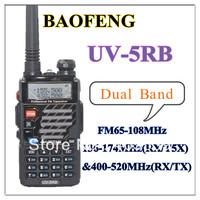 2013 BAOFENG new luanch UV-5RB  Dual Band 136-174MHz(RX/T5X) & 400-520MHz(RX/TX)  free shipping two way radio UV5RB