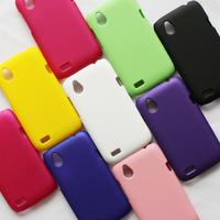 Free Shipping Hard Matte Back Cover Case for HTC Desire X T328e Hard Rubberized Plastic Case 9 Colors, HCC-006