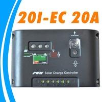 20A Solar Controller 12V 24V solar panel battery charge controller with timer control for solar home system led lighting 20I
