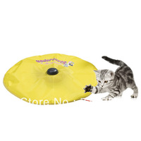 As Seen on TV digital undercover mouse / Cat`s Meow electric cat toys Free shipping