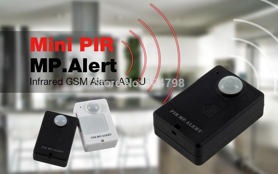 1pcs mini Wireless PIR Infrared Sensor Motion Detector GSM Alarm System Anti-theft Worldwide FreeShipping(China (Mainland))
