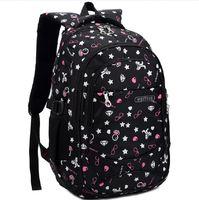 high school  girl backpack  girl boy backpack school knapsack outdoor leisure school backpacks fashion school bags