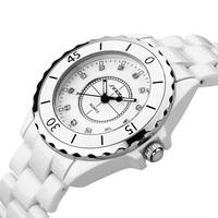 2014 New Arrival Fashion Dress Sinobi Watch for Women Ceramic Strap Luxury Brand Quartz Wristwatch ZBG1006