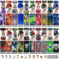 Free Shipping 1pc/lot Latest Fashion Outdoor Sport Multi Purpose Tubular Microfiber Headwear Headband Multifunction Bandana