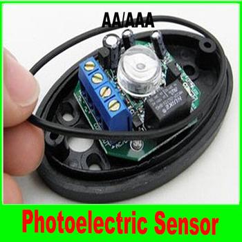 1pair Single Beam Detector (ABO-20) Active Half Egg Beam Infrared Detector Photoelectric Sensor