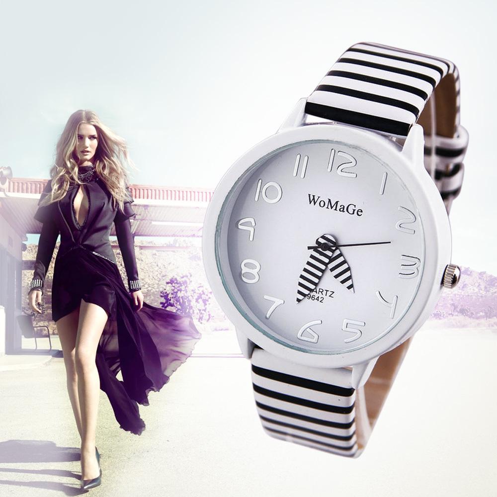 2014 New Fashion WaMaGe Casual Watches Ladies Quartz Watch Fashion Zebra Strap Analog Wristwatch Sports watch Women Dress watch(China (Mainland))