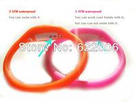 Fashion Wrist sport Watch\3 ATM waterproof anion silicone watch \Wrist watch wholesale 15,17,18cm