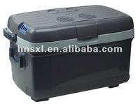 Large capacity 45L AC100-240v,DC12v   warming and cooling double used mini fridge