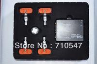 Free shipping Car DVD GPS Tire Pressure Monitoring System TPMS system  with 4 internal sensor external sensor