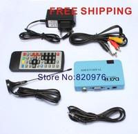 Hot sell Cheap Quality good Digital DVB-T FreeView Receiver Recorder Box LCD VGA AV TV Tuner+Ego Free Shipping