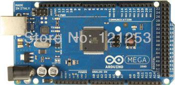 100% new~!Mega 2560 R3 ATmega2560-16MU Board +USB Cable Compatible with for Arduino mega 2560 R3(1 board+ 1 USB Cable)