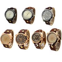 Hot Selling Luxury Men Boys Big Quartz Wrist Watch Free Shipping