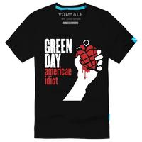 Green day Magic male casual 100% cotton short-sleeve T-shirt$ 14.5 Free shipping