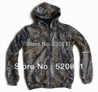 Biomimetic leaves camouflage sweatshirt wear both side ghillie suit hunting equipment marine camouflage desert camo