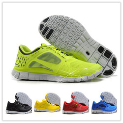 Free Shipping 2013 New style Air Barefoot Running Shoes Free Run+3 Shoes 5.0 Fashion and comfortable Men Shoes size:7-12(China (Mainland))