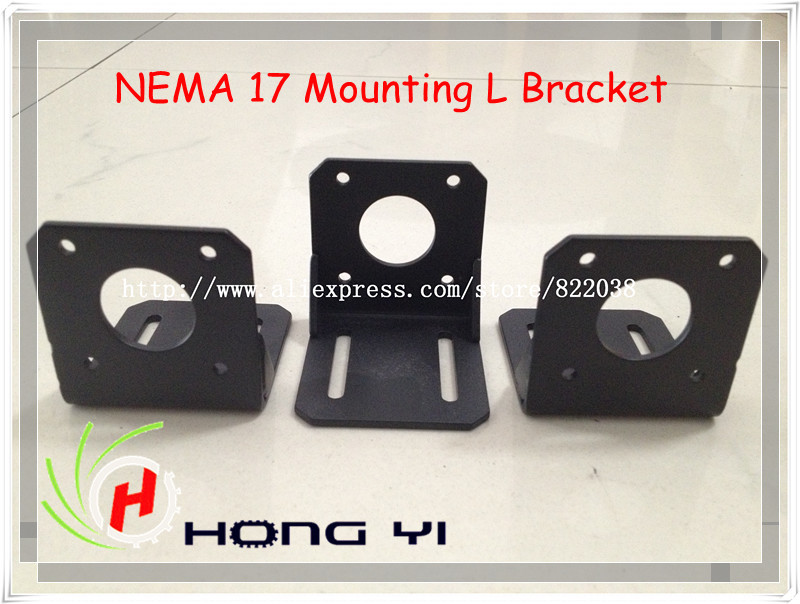 CPAM 1Pcs NEMA 17 Mounting L Bracket Mount Step Stepping Stepper Motor(China (Mainland))