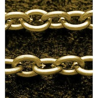 Iron Cross Chain,   Antique Bronze,  Come On Reel,  Link:3x4mm,  0.7mm thick,  100m/roll