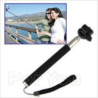 New Portable Handheld Flexible Telescopic Extendible Phone Monopod Photo Tripod Light Weight for Digital Camera Camcorder