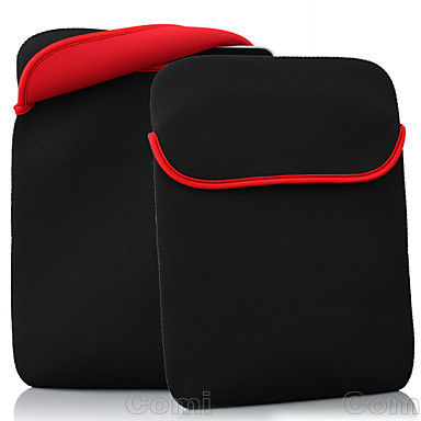 Portable Soft Waterproof Protect Cloth Cover Case Bag Pouch for 9.7 inch Tablet PC ,5 piece a lot(China (Mainland))