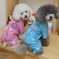 New Hot!!! Dog Raincoat Waterproof Jacket Hooded Rainsuit Pet Coat Clothing Dog Couple Rainwear