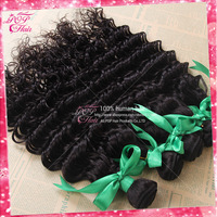 Ali POP hair cheap hair high quality 100% peruvian human hair weave curly 3pcs 12''-28'' pretty peruvian deep wave tangle free