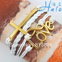Free Shipping 6pcs/lot Neat Endless child tracking bracelets Love Infinity Pretty pulseiras 2013 Hot Sale Jewellery B00-759