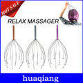 6057 Free shipping Hot sale Free sjipping Head Neck Scalp Massager Massage Stress Relax Equipment