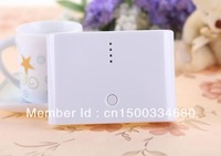 10pcs  New 20000mAh Universal Power Bank USB Battery Charger External Battery Pack With Retail Box Free DHL FEDEX IP Shipping!