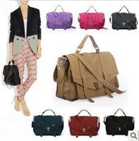 Hot Sale Emma PS1 Vintage Women Leather Bags Fashion Briefcase Cross-body Messenger Bag Scrub Velvet Women's Handbags