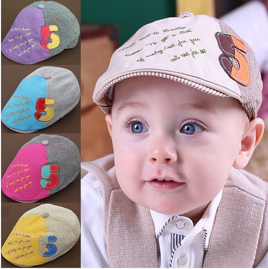 free shipping 2014 new arrival child hats baby hats baseball cap(China (Mainland))