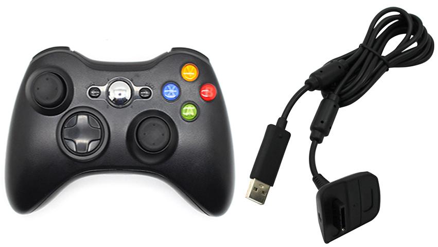 manette sans fil xbox 360 +1pc manette sans fil pour xbox 360 jeux