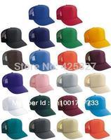 Unisex Classic Trucker Baseball Golf Mesh Cap Hat -16 Plain Colors