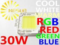 FREE SHIPPING 5PCS/LOT 30W 45MIL 3000-3300LM LED Bulb SMD Lamp Light High Power White / Warm White LED