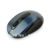 10M 2.4G Wireless Optical USB Mouse for Laptop PC BlueFree Shipping+Dropshipping